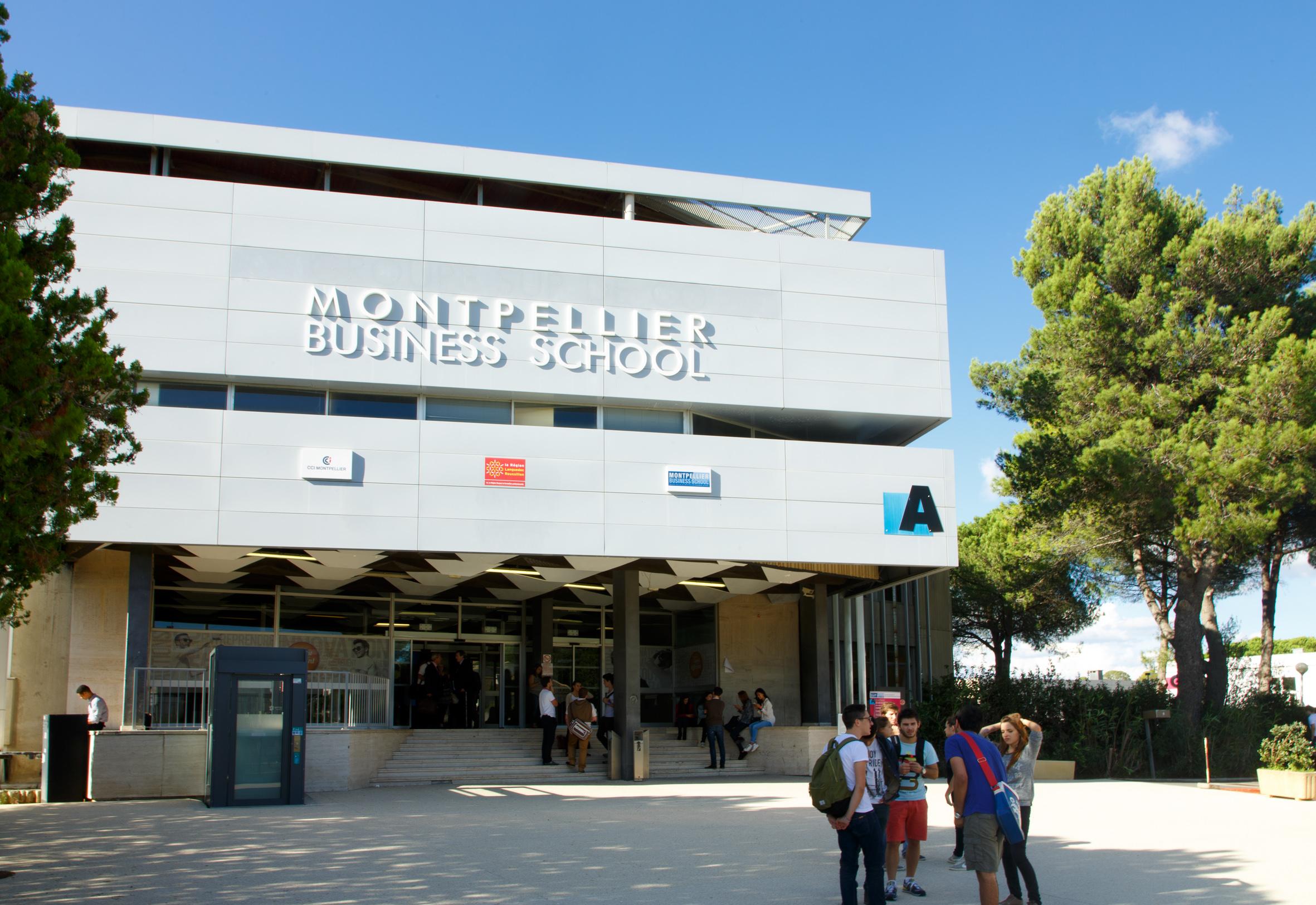 Montpellier business school n 17 au classement ecoles de for Montpellier terre archi