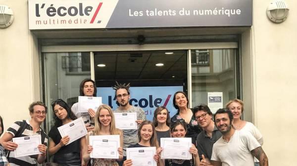 ecole developpeur web paris